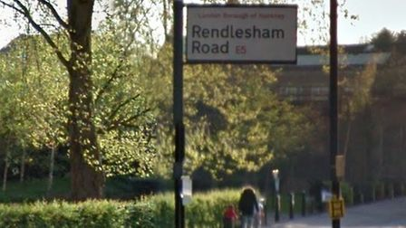 The driver was robbed in Rendlesham Road. Picture: Google Maps