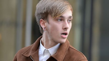 Charlie Alliston arrives at the Old Bailey. Picture: John Stillwell/PA Wire