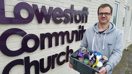 Lowestoft Community Church is working with the Trussell Trust to take on the management and governan