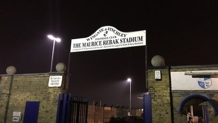 Wingate & Finchley play at the Maurice Rebak Stadium
