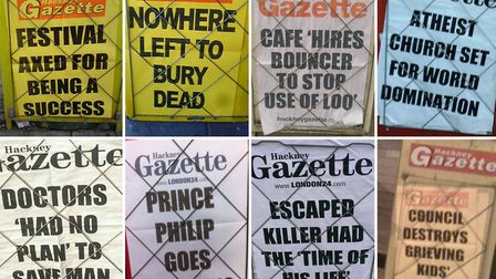 Some of Ewan's favourite Gazette bills from down the years.