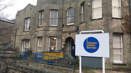 The Citizens Advice base in Gordon Road, Lowestoft. Picture: Amy Smith.
