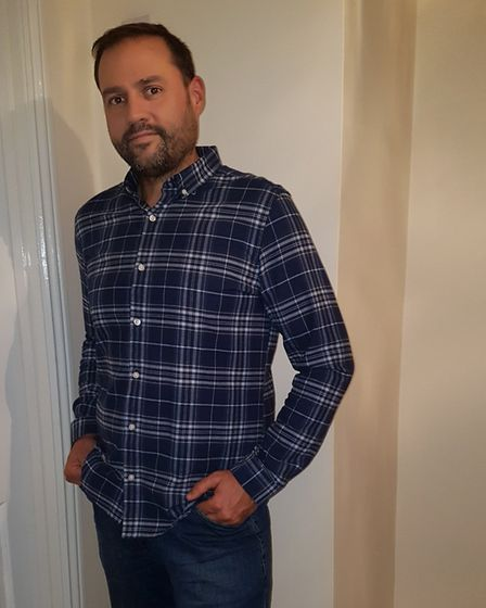 New Slimming World consultant Richard Neale after losing 3st 11lb. Picture: Courtesy of Richard Neal