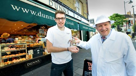 Christopher Freeman is retiring from family run Dunn's bakery in Crouch End after almost 45 years in