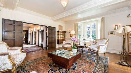The Hampstead Garden Suburb home has six bedrooms, including two doubles