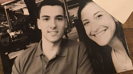 A picture of Stefanie Stavri with her brother Rene in happier times. Picture: Stefanie Stavri