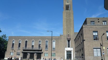 Hornsey Town Hall in The Broadway, Crouch End (Picture: Purcell)