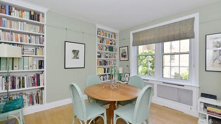 The two bedroom apartment features a bright, separate kitchen and reception room as well as a 27 sq