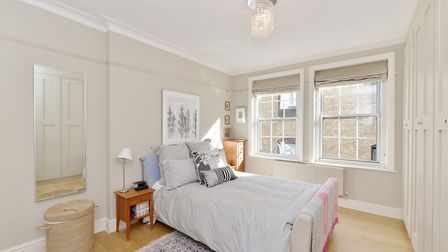 The two bedroom apartment in Marylebone is now on the Market for less than �1 million with Kay & Co,
