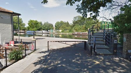 The attacks happened near the Lee Valley Marina by Springfield Park. Picture: Google StreetView