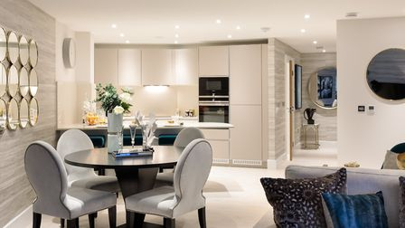 Prices for a three bedroom family apartment in Highgate Court start at �1,349,995