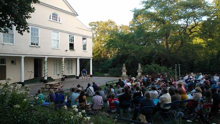 Lauderdale House Tea Lawn. Picture: Shooting Stars Theatre Company