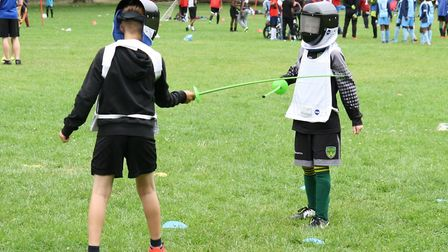 An Access to Sports fun day at Millfields Park. Picture: John Mackinnon/Access to Sports