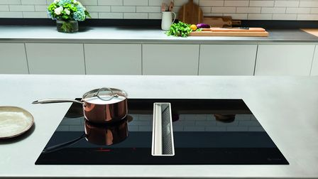 Caple DD940BK Induction Downdraft Extractor, from 3,690, available from Caple
