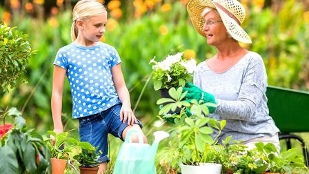Getting your kids in the garden this summer can help build their confidence and social skills, say B