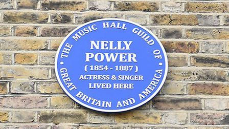 Nelly Power's Blue Plaque