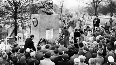 The unveiling of the famous Karl Marx grave, in 1956, will feature in a BBC Radio 3 programme about