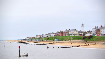 Southwold seafront, a popular destination for out-of-town visitors. Picture: Nick Butcher