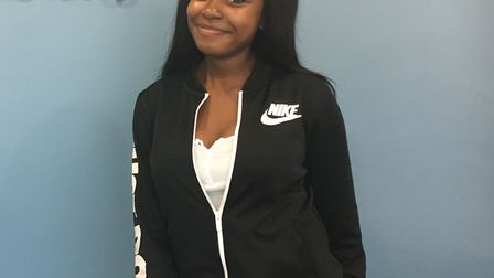 Our Lady's Convent High School student Hazel Boadu Antwi collected her GCSE results this morning.
