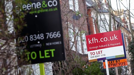 31 per cent of agents have seen their landlords putting up their rents, up four per cent since May,