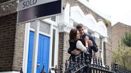 45 per cent of 18 to 35 year-olds are banking on a partner to help them get onto the property ladder