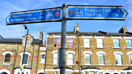 Signs in Stroud Green