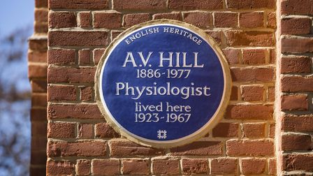 The homes was once home to Archibald Hill who took home the 1922 Nobel Prize in Physiology or Medici