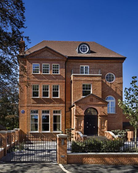 The seven bedroom Highgate property is on the market for �10,000,000 with Savills