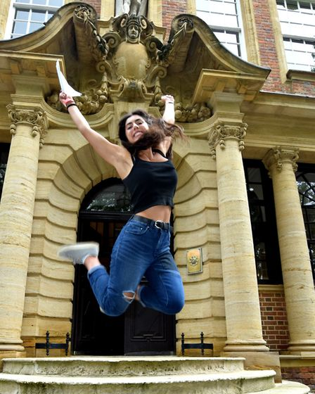 A level results at UCS Hampstead. Ruby Wolman A*A*A*