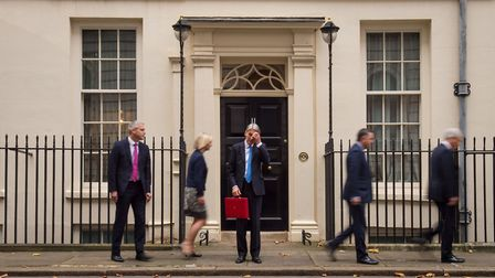 Stephen Barclay as an Economic Secretary with Liz Truss, Philip Hammond, Mel Stride and Andrew Jones