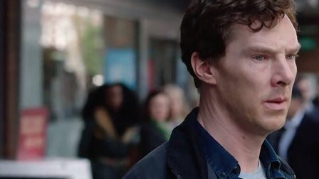 Benedict Cumberbatch filmed key scenes for BBC drama 'The Child in Time' in Crouch End. Picture: Fil