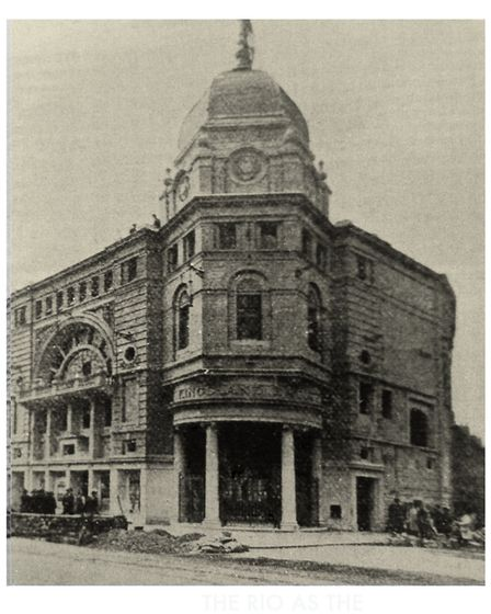 The Rio in its first incarnation as the Kingsland Empire Cinema in 1915.