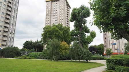 Camden Council want to know how residents would like to improve green spaces on the Ampthill Estate