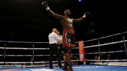 Lawrence Okolie is in action York Hall on September 1 on a Matchroom bill (pic: Paul Harding/PA)