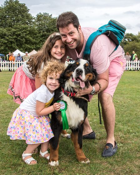 The annual dog show is now in its sixth year. Picture: Julia Claxton