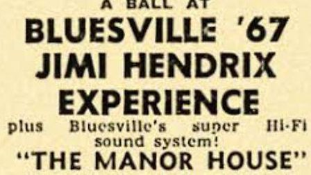 Jimi Hendrix graced the stage in 1967 - the year he and his band released debut album Are You Experi