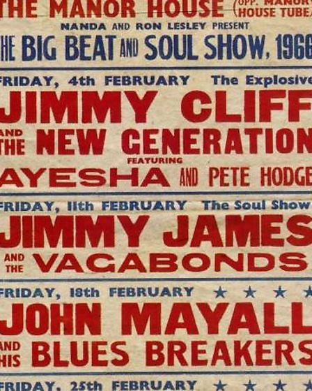 Jimmy Cliff and John Mayall played at the pub in 1966.