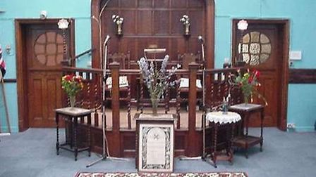 Inside Rochester Square spiritualist temple Picture: Wendy Stokes