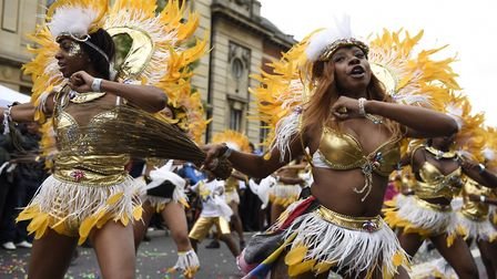 Tropical Isles dancers at Hackney Carnival. Picture: Hackney Council