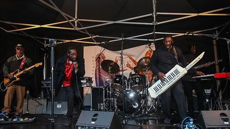 Black Slate on stage at Hackney Carnival. Picture: Hackney Council