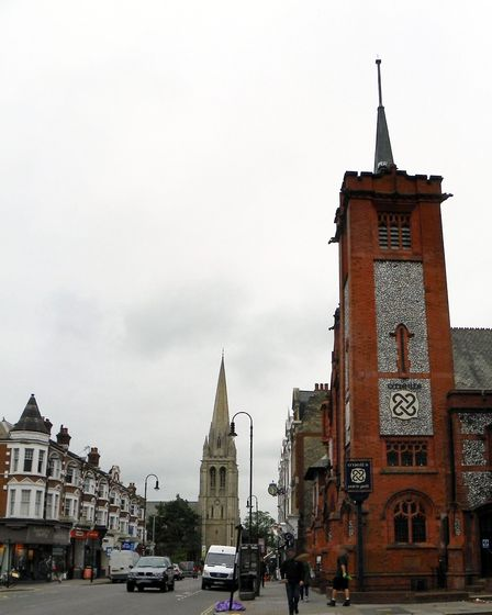 For the Muswell Hill Walk meet at Queen's Avenue, beside Muswell Hill Library. Picture: Open House L