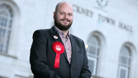 Mayor Philip Glanville outside the town hall. (Picture: Garty Manhine).