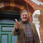 Stephen Fry has collaborated with Louis Mander on The Life to Come. Picture: Lauren Hurley
