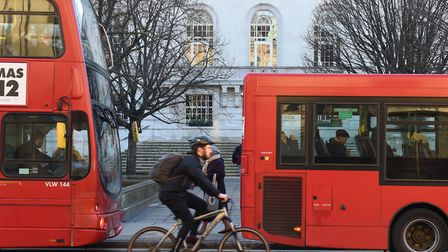 Cycling is one of the topics that will be covered by a stall at Hackney Town Hall this weekend. Pict