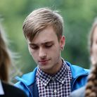 Charlie Alliston arrives at the Old Bailey, where he faces up to two years in jail for killing 44-ye