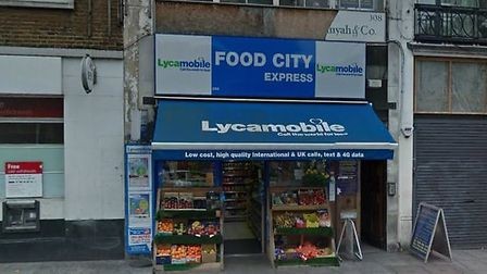 Food City Express in Seven Sisters Road, Finsbury Park. Picture: Google Maps