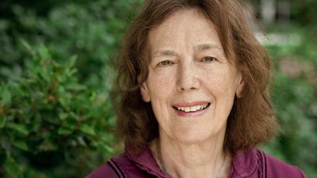 Claire Tomalin. Picture: Angus Muir