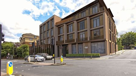 The new development is comprised of 13 deluxe apartments on the Finchley Road