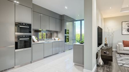 The homes at Four5Two are just a fifteen minute walk from the Tube station and half a mile from Hamp