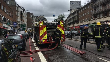 There is an incident ongoing on Finchley Road